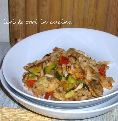 Kebab di pollo con verdure  Paperblog