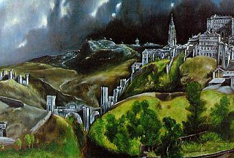 Paesaggi veduta di Toledo  Paperblog