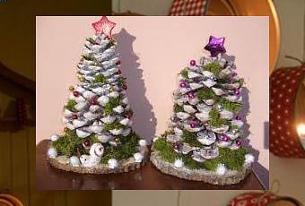 Decorare con le pigne lalbero di Natale  Paperblog