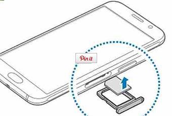 GALAXY S6 Come inserire la scheda telefonica SIM nel