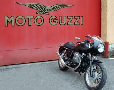 Moto Guzzi V7 Caf Sport by Luca Bar  Stucchi Luigi