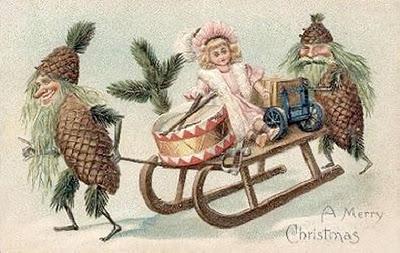 Antiche cartoline di natale  Paperblog