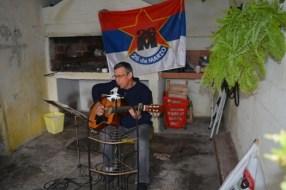 Julio Fernández otro cantautor comprometido con el 26 y la UP