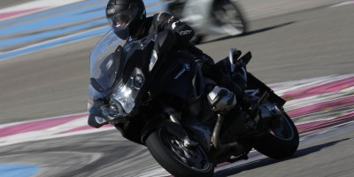 BMW motorcycle tour france