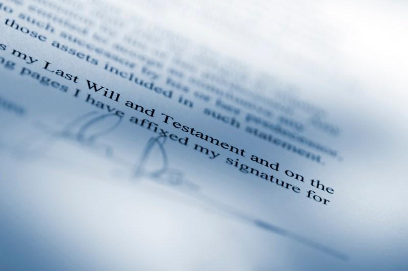 Wills, Estates, & Trusts