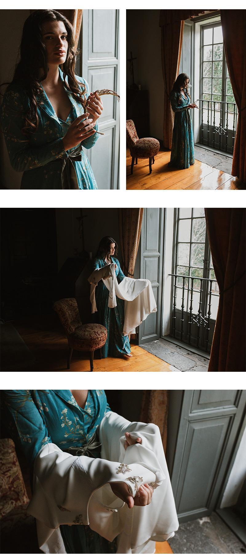 FOTOGRAFOS DE BODAS ASTURIAS, PALACIO DE MOUTAS, VESTIDO DE NOVIA,BEBASCLOSET