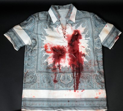 """Shirt worn by Robert De Niro in """"Cape Fear."""" Photo by Anthony Maddaloni."""