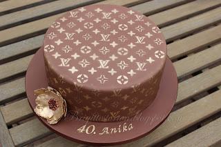 louis vuitton Torte in braungold