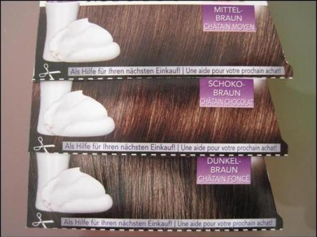 Schwarzkopf Perfect Mousse Farbe 500 Mittelbraun, 465 Schokobraun, 400 Dunkelbraun