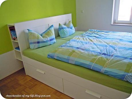 neue Wohnung VorherNachher Schlafzimmer