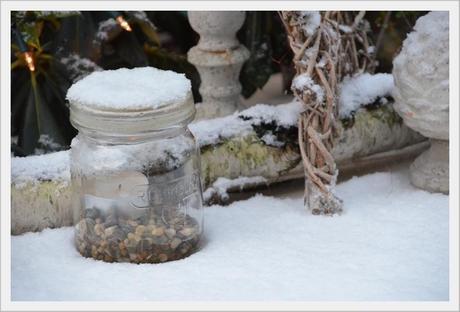 Winter Outdoor Deko winterliche Drauen Deko