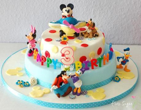 Mickey Mouse Torte und ein give away