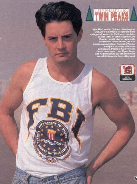 TWIN PEAKS SPECIAL AGENT DALE COOPER