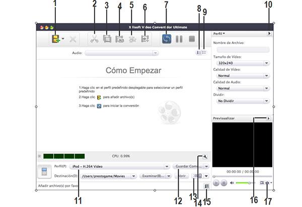 Tutorial de Xilisoft Video Convertidor Ultimate para Mac
