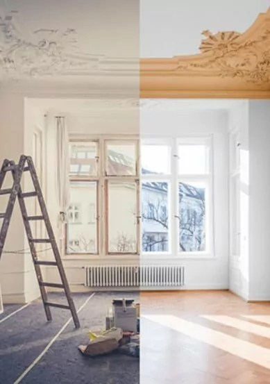 Appartement avant/ apres