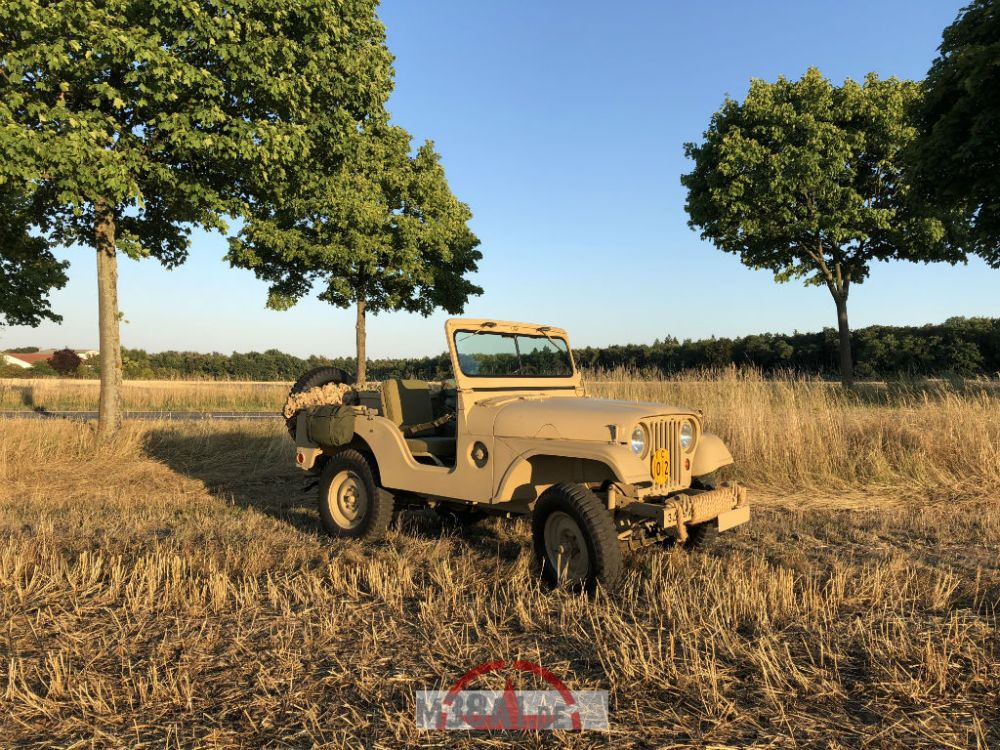 medium resolution of willys jeep m38a1 in the sunset