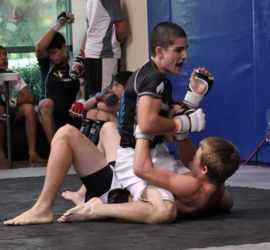oscar mount in pankration fight mma teens