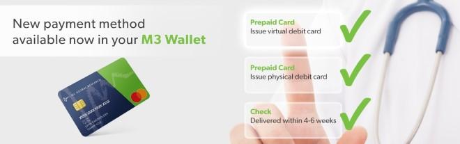 M3 Prepaid Cards