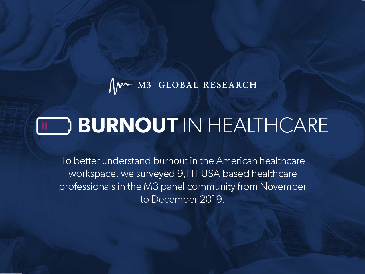 Burnout in the healthcare workplace