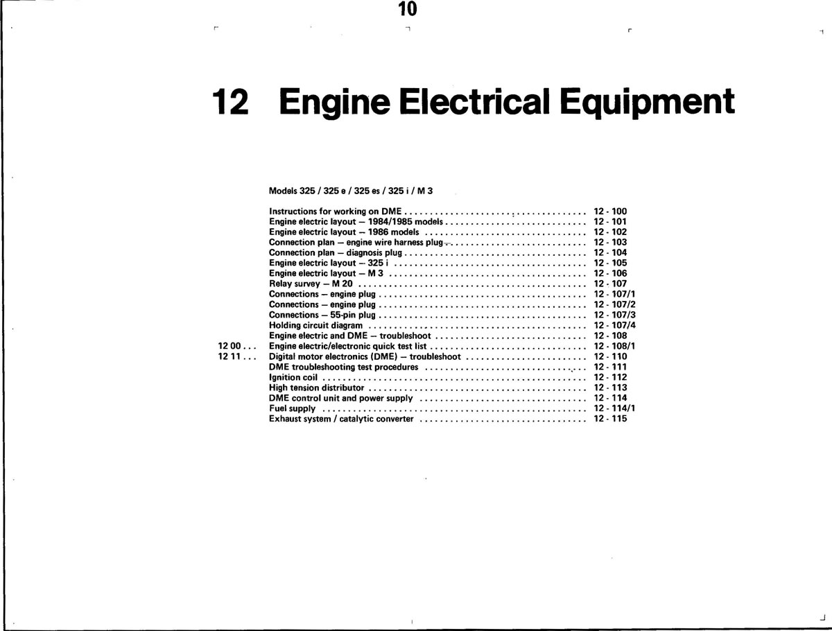Pierre's e30 M3 Buildup » Engine Electrical Equipment