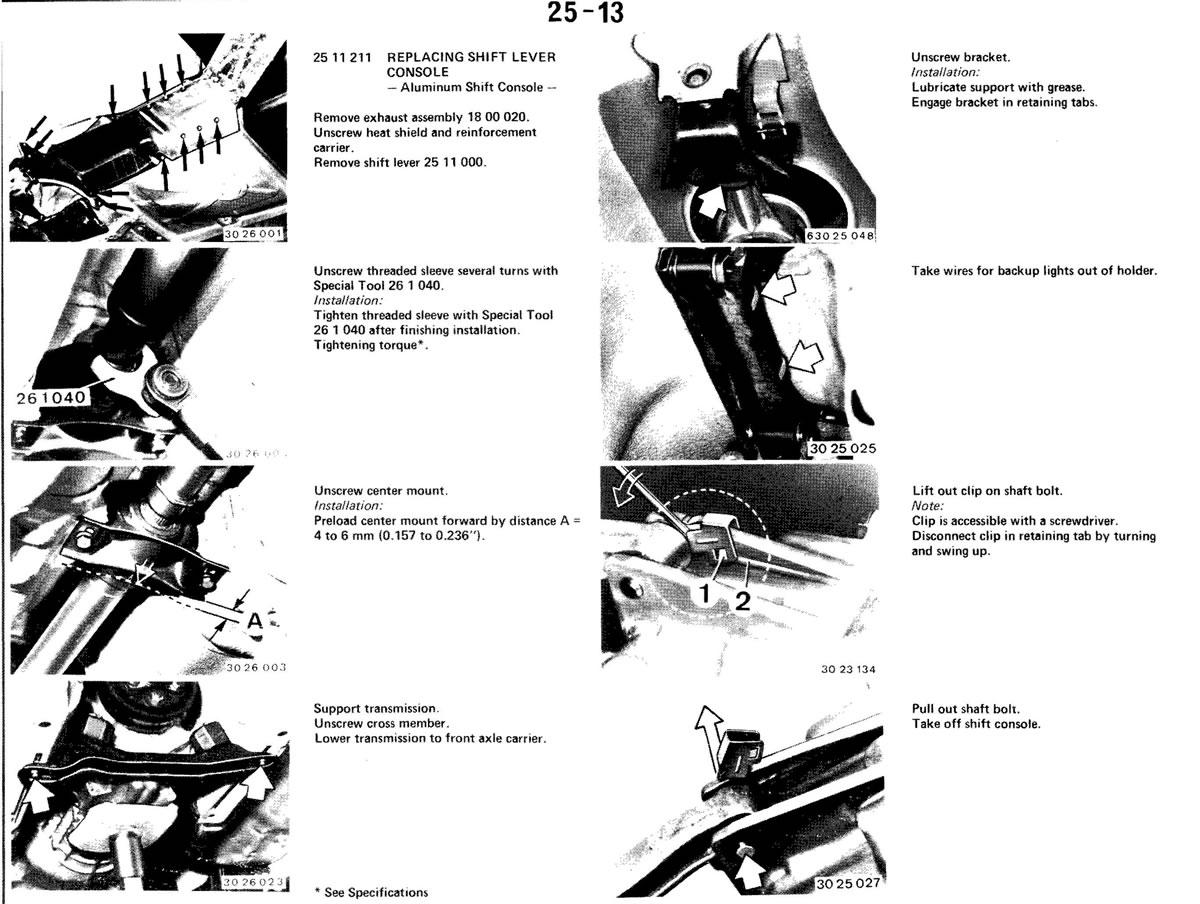 Pierre's e30 M3 Buildup » Gear Shift Mechanism