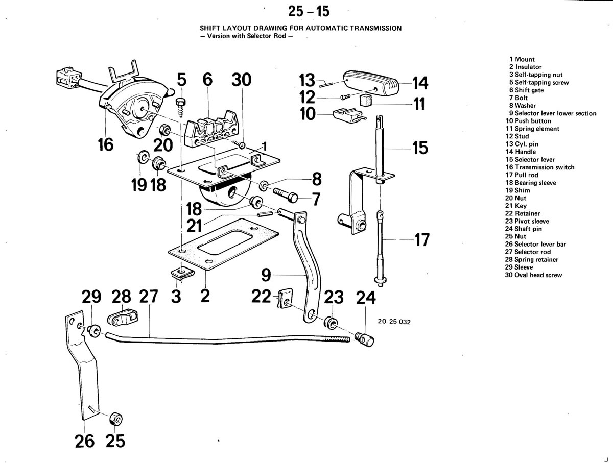 Service manual [2000 Bmw 3 Series Gear Shift Mechanism