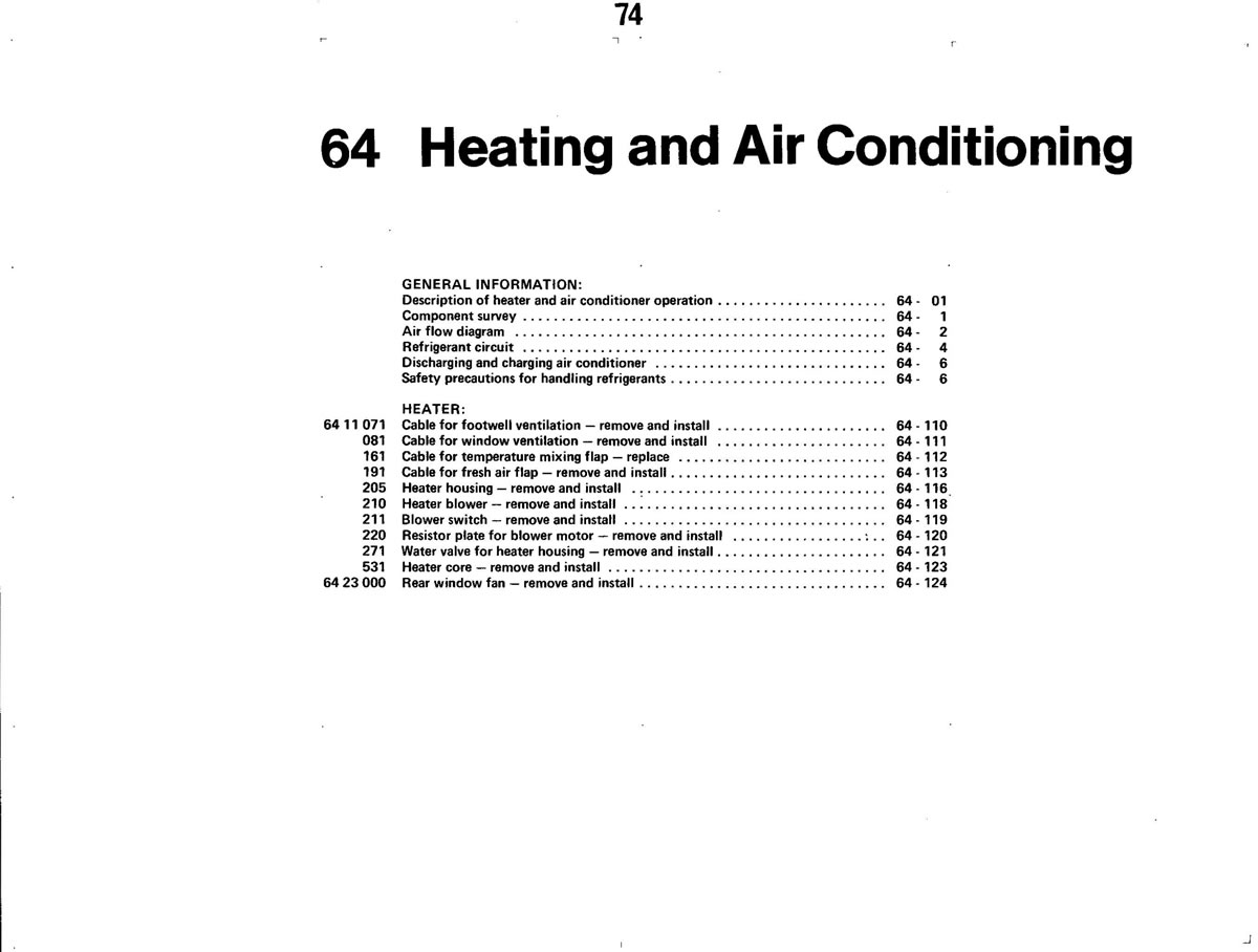 Pierre's e30 M3 Buildup » Heating and AC