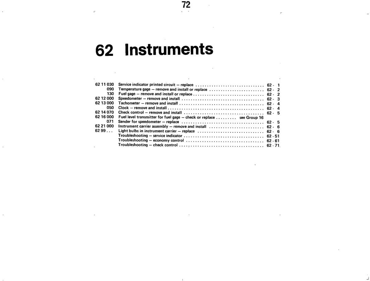 Pierre's e30 M3 Buildup » Instruments