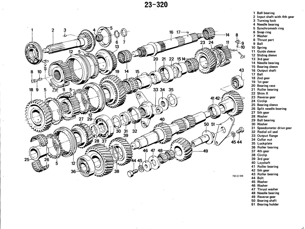 Pierre's e30 M3 Buildup » Manual Transmission
