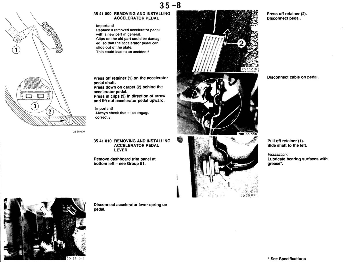 Pierre's e30 M3 Buildup » Pedals