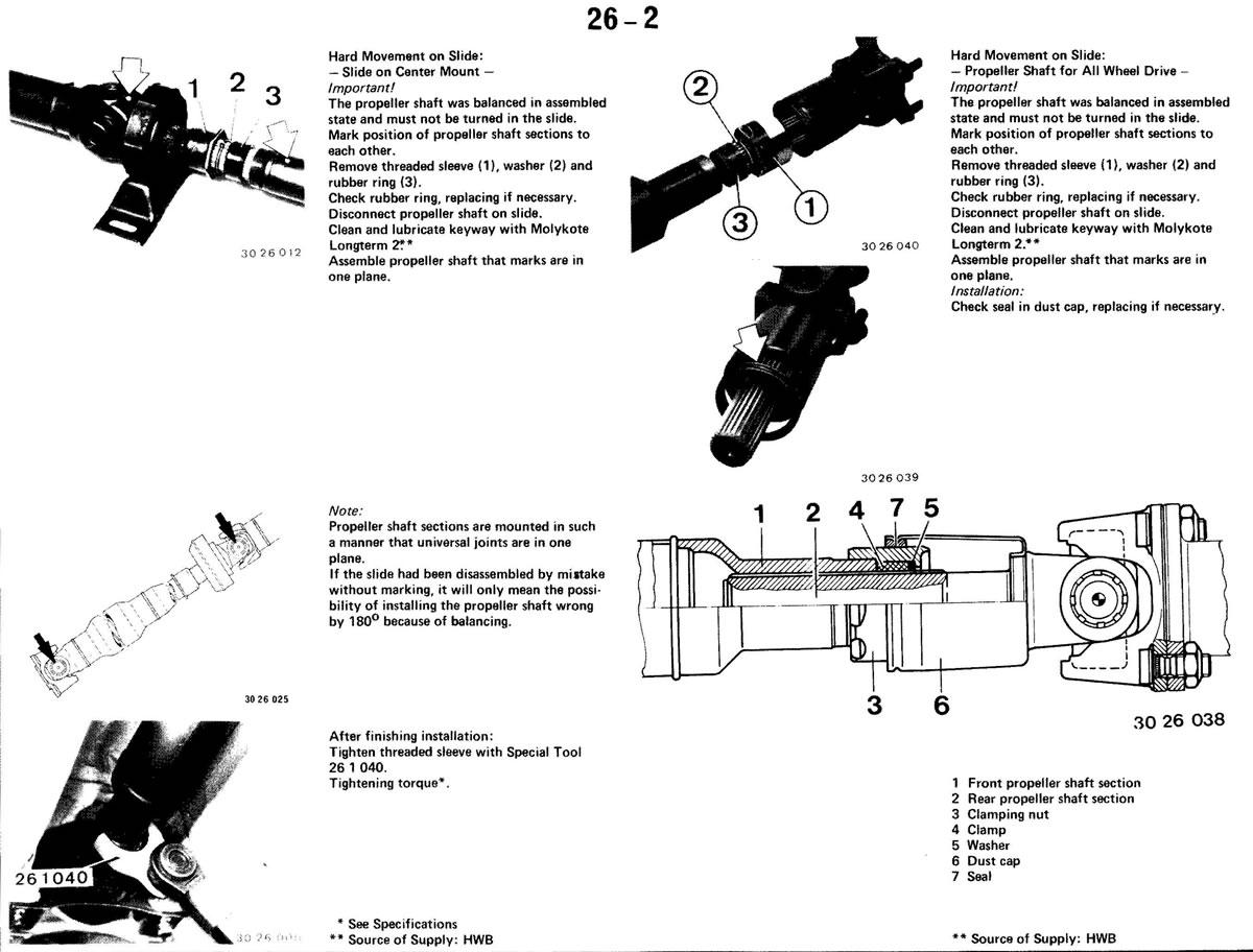 Pierre's e30 M3 Buildup » Propeller Shaft