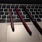 タブレット端末でスタイラスペンを使うと便利!試して評価一変しました。