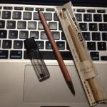 2mm芯のシャープペンシル「大人の鉛筆」は素晴らしい! 沢山書く人、速記におすすめ。