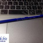 新しく出た『フリクションいろえんぴつ』は鉛筆タイプなのに消し方はフリクション方式