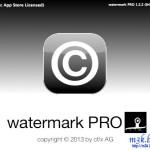 透かしを簡単に付けられるMacの無料ソフトwatermark pro