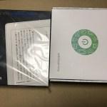 Kindle PaperWhite32GBマンガモデルを買ってみた