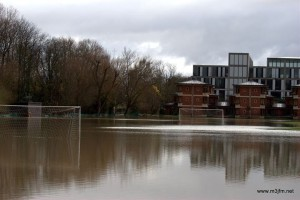 Photo of flooding close to the house taken by Paul (M3JFM)