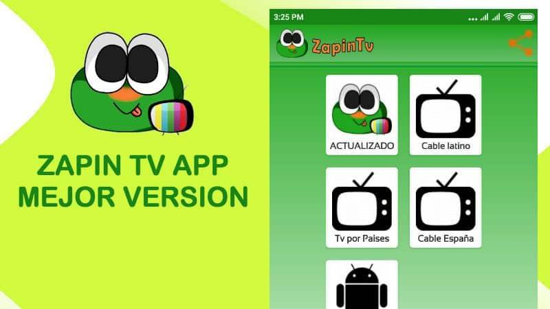descargar instalar zapin tv app gratis apk descargar para pc ios android smart tv