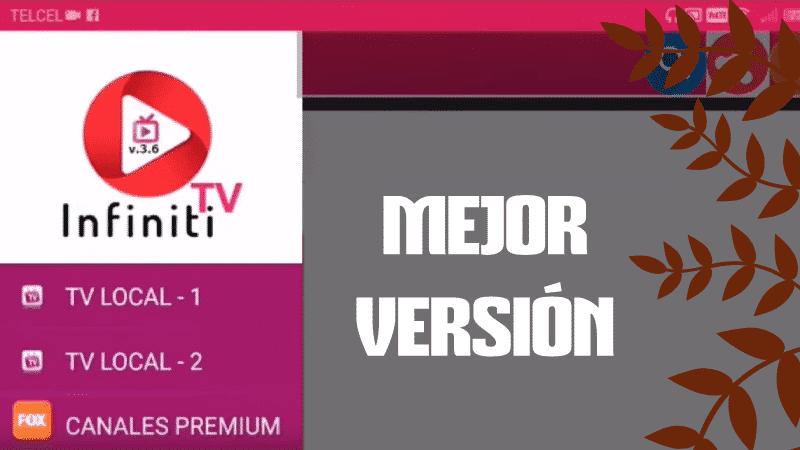 descargar infinity tv apk instalar pro mod