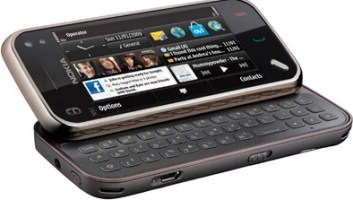 The Nokia N97 mini smartphone scheduled for release October 2009.