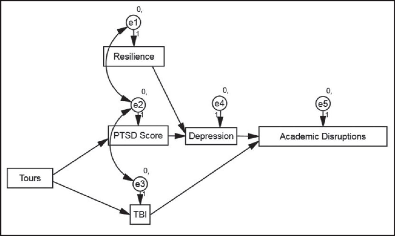 Interrelationships Among Resilience, Posttraumatic Stress