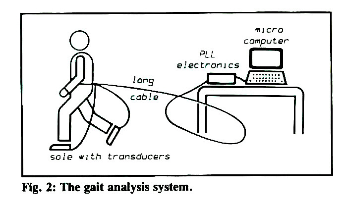 A New Gait Analysis System for Clinical Use in a