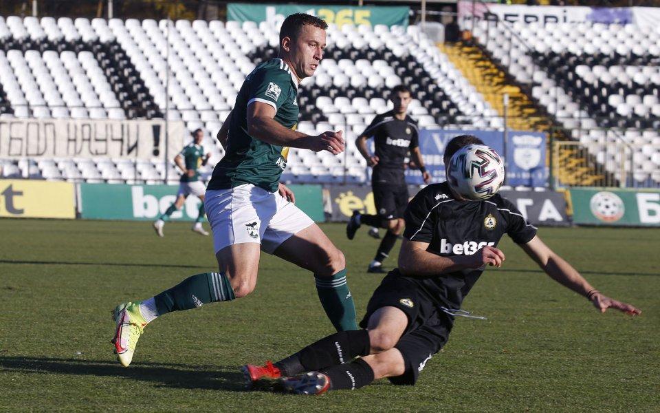 Пирин с официалната позиция на Венци Стефанов – БГ Футбол – Купа на България
