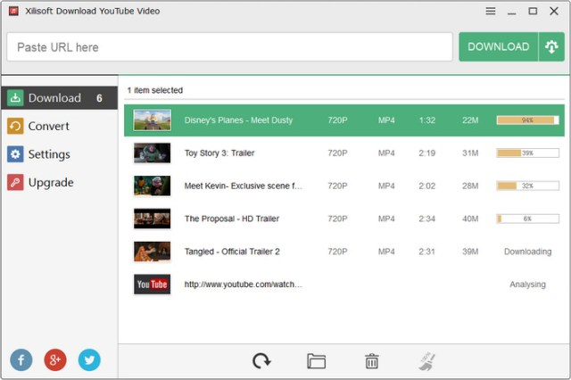 Xilisoft Download Youtube Video Click To View Screenshots