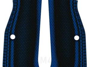 CZ Shadow 2 Thin Full Checkered Blue Black