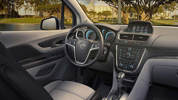 2016 Buick Encore interior