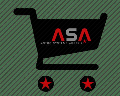 Multilingualer Webshop für ASA Astro Systeme Austria