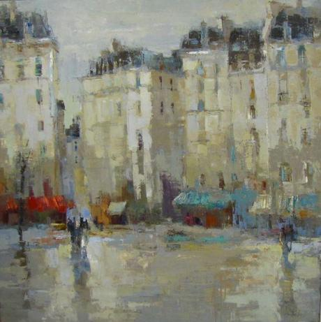 Barbara Flowers Paintings of Paris  Paperblog