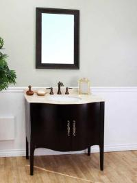 A Collection of Bathroom Vanities with Curved Fronts ...