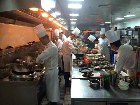 hotel rooms with kitchens black faucet kitchen behind the curtains on china's 5-star stage: ...